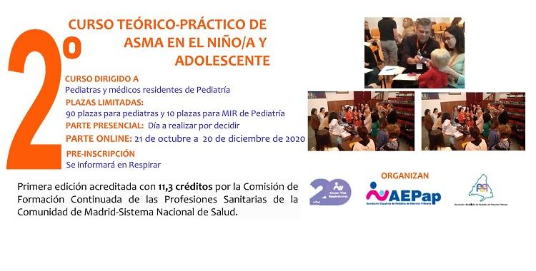 Curso de asma en la infancia y adolescencia del GVR