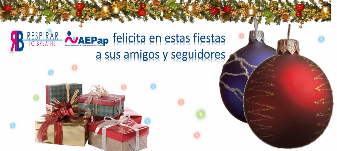 Felices fiestas 2018 de Respirar a sus amigos y seguidores