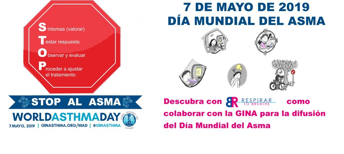7 de mayo, 2019. Día Mundial del Asma