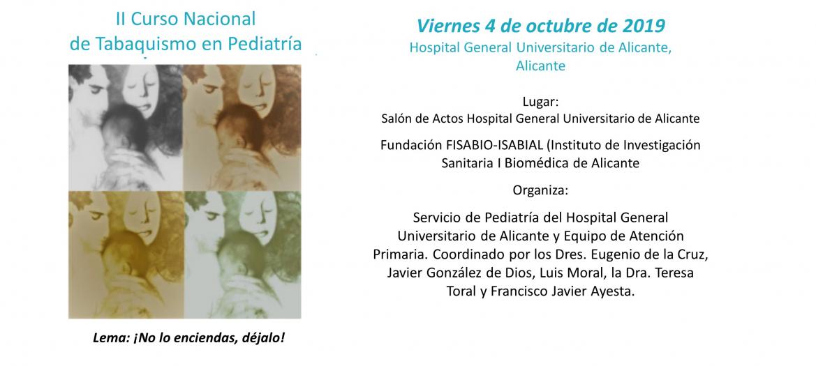II Curso Nacional de Tabaquismo en Pediatría