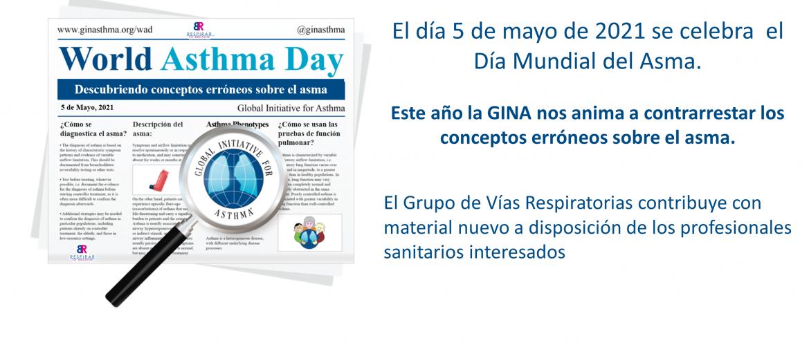5 de mayo, 2021. Día Mundial del Asma