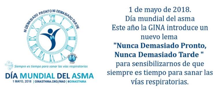 1 de mayo. Día Mundial del Asma