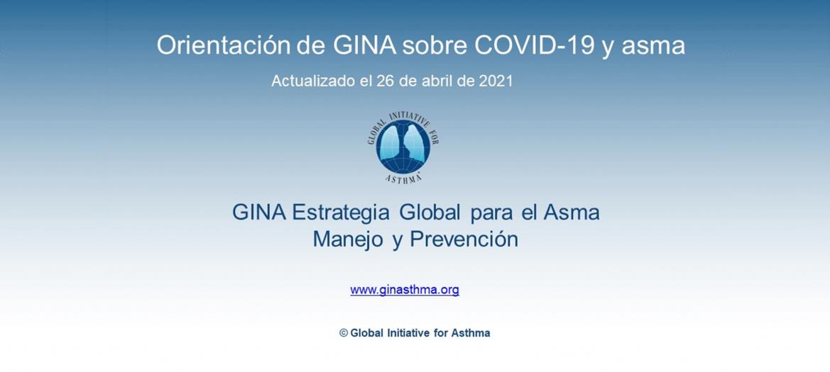 Asma y Covid-19. Recomendaciones GINA 2021