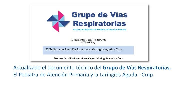 Actualización de Laringintis Aguda. Documento técnico del GVR