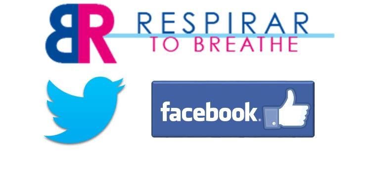 Respirar está en Twitter y Facebook